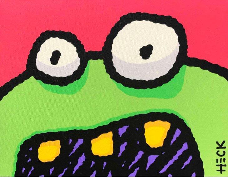 Ed Heck: Monster Grin
