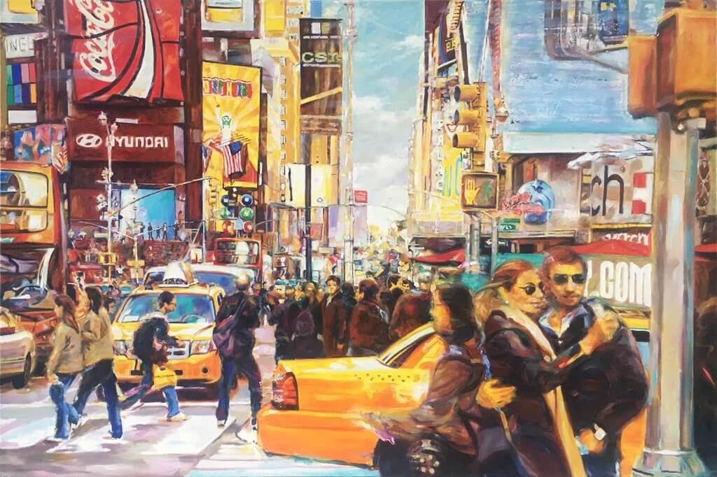 Jürgen Schmiedekampf: Times Square 'Stop And Go'