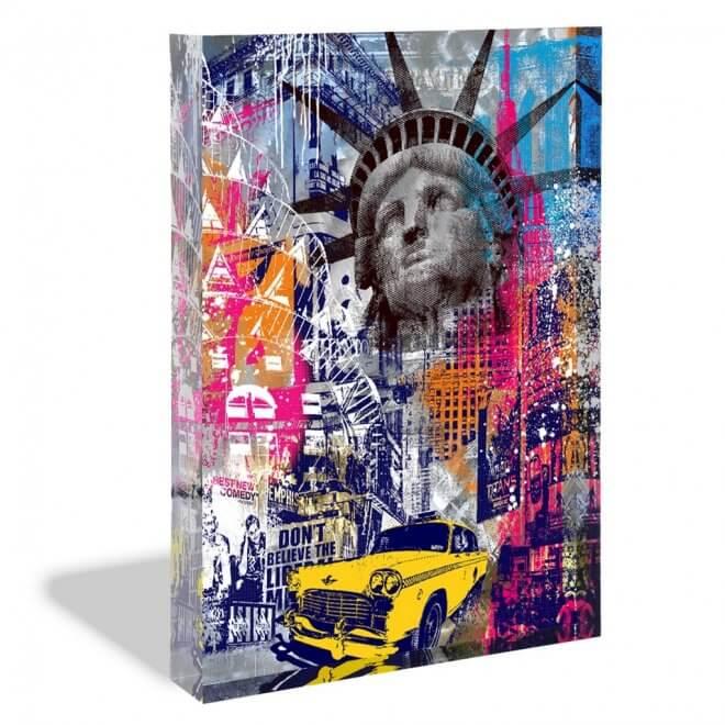 Devin Miles - New York Acrylblock