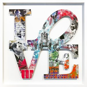 Devin Miles: Love - Berlin II inkl. Rahmen