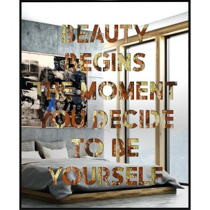 Devin Miles: Beauty begins the moment you decide to be yourself