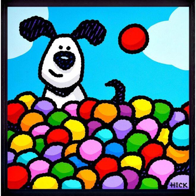 Ed Heck: Having a ball