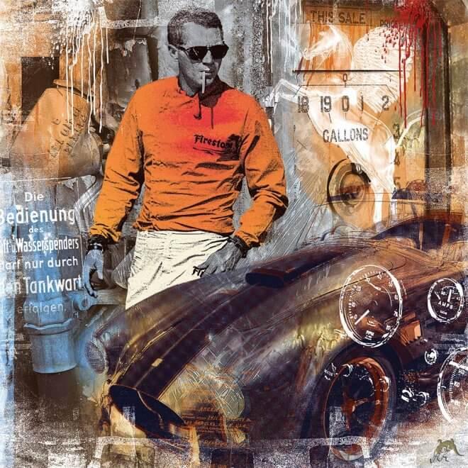 Devin Miles: Flying Horse - Steve McQueen