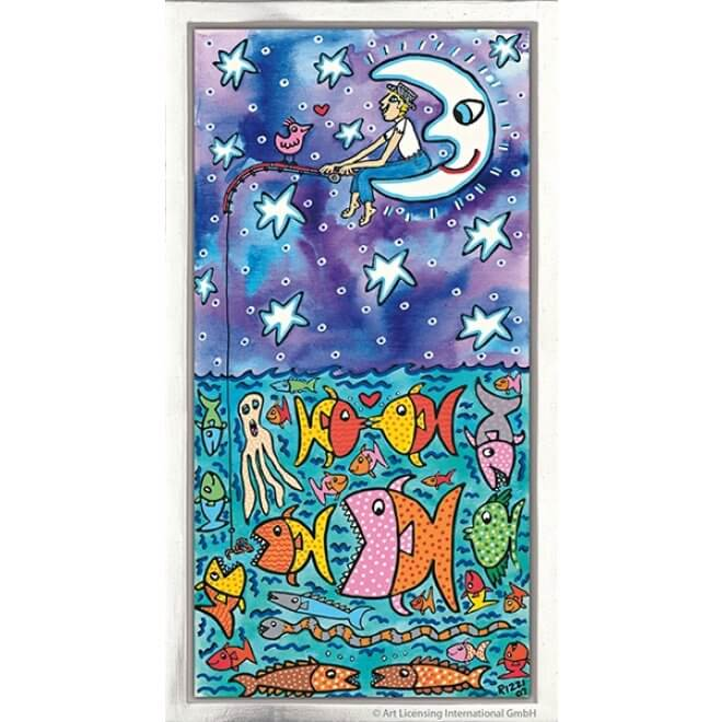 James Rizzi: The Big Sky And The Deep Sea - Lots Of Fish For You And Me