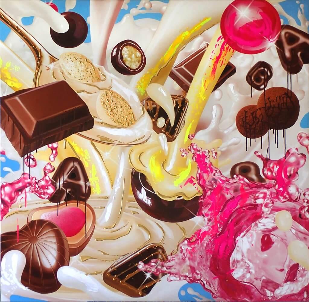 Jean-Pierre Kunkel: Advertising Pop-Art No 2
