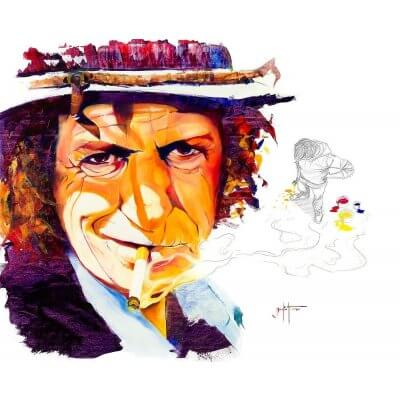 David Badia Ferrer: Keith Richards - Edition