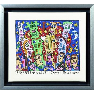 James Rizzi: Big Apple - Big Love