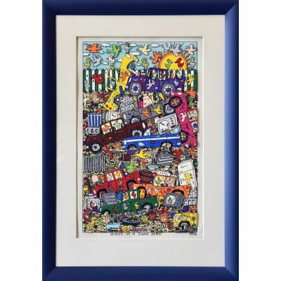 James Rizzi: Birds In A Junkyard