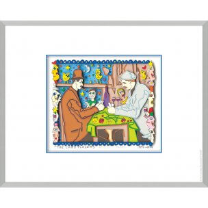 James Rizzi: The Card Players