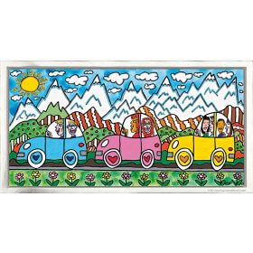 James Rizzi: Driving Through The Alps