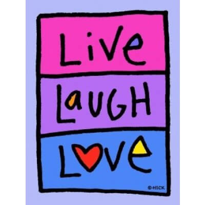 Ed Heck: Live Laugh Love
