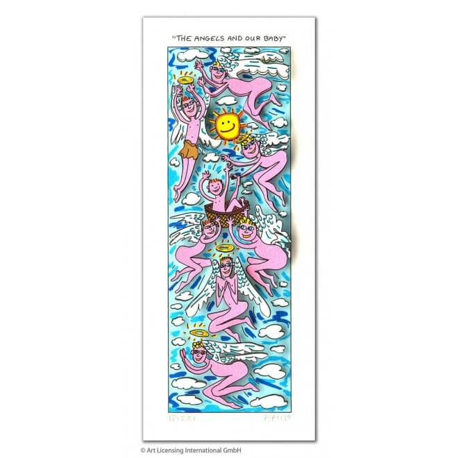 James Rizzi: The Angels And Our Baby