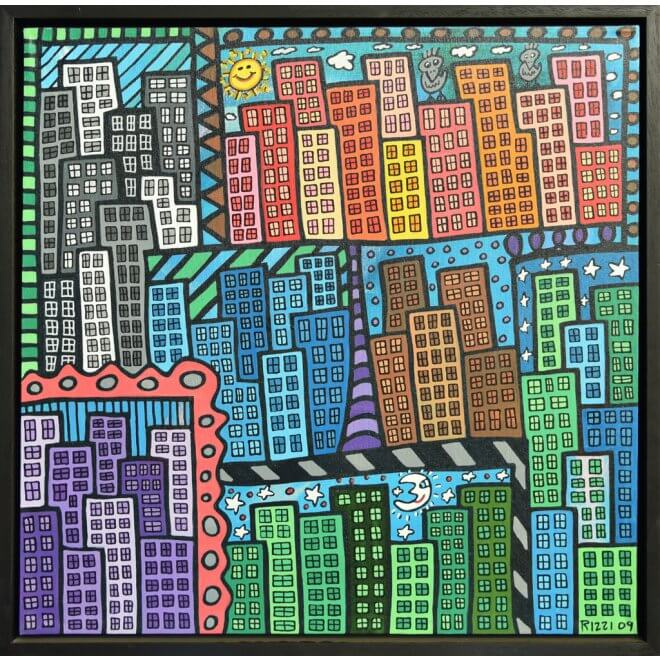 James Rizzi: Seven Times In The City