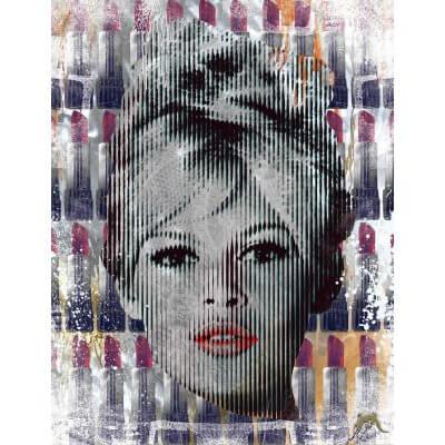 Devin Miles: Red Lips – Brigitte Bardot