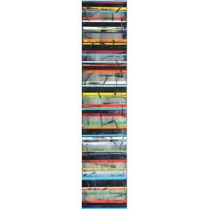 Petra Rös-Nickel: Colour Stripes Black