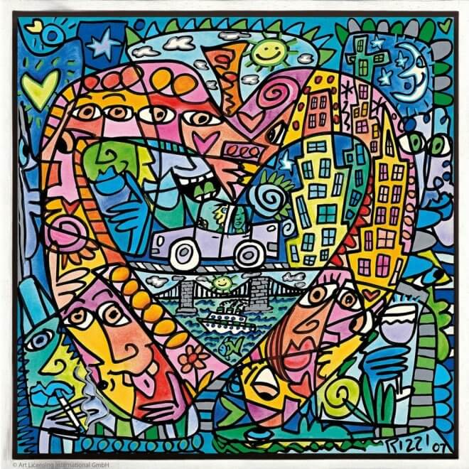 James Rizzi: My heart lives in my big apple