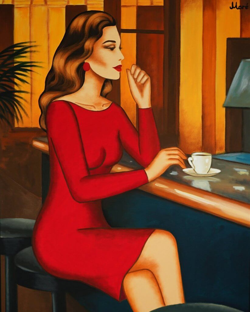 Ekaterina Moré: Red Addiction