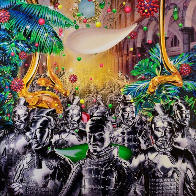 Jean-Pierre Kunkel: Advertising Pop-Art No 3