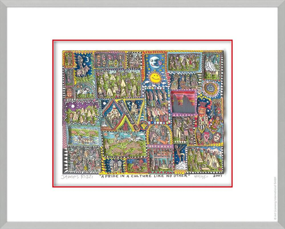James Rizzi: A Pride In A Culture Like No Other
