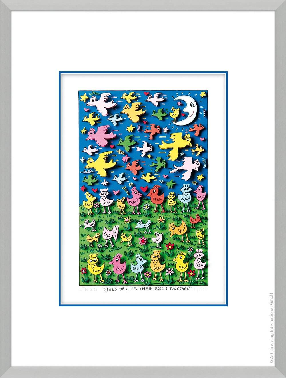 James Rizzi: Birds Of A Feather Flock Together
