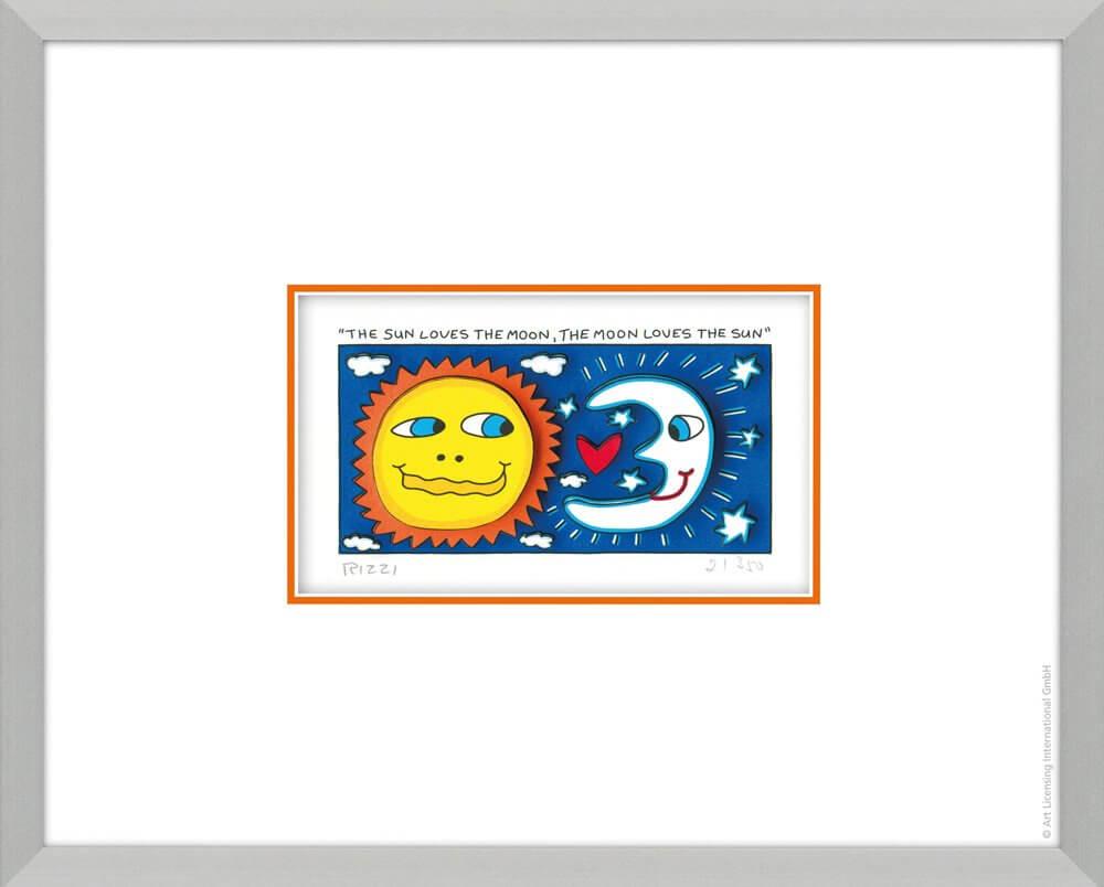 James Rizzi: The Sun Loves The Moon, The Moon Loves The Sun