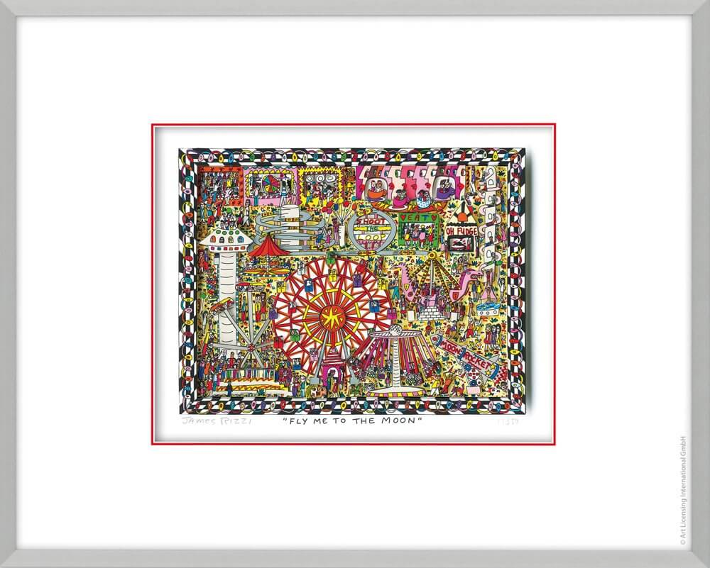James Rizzi: Fly Me To The Moon