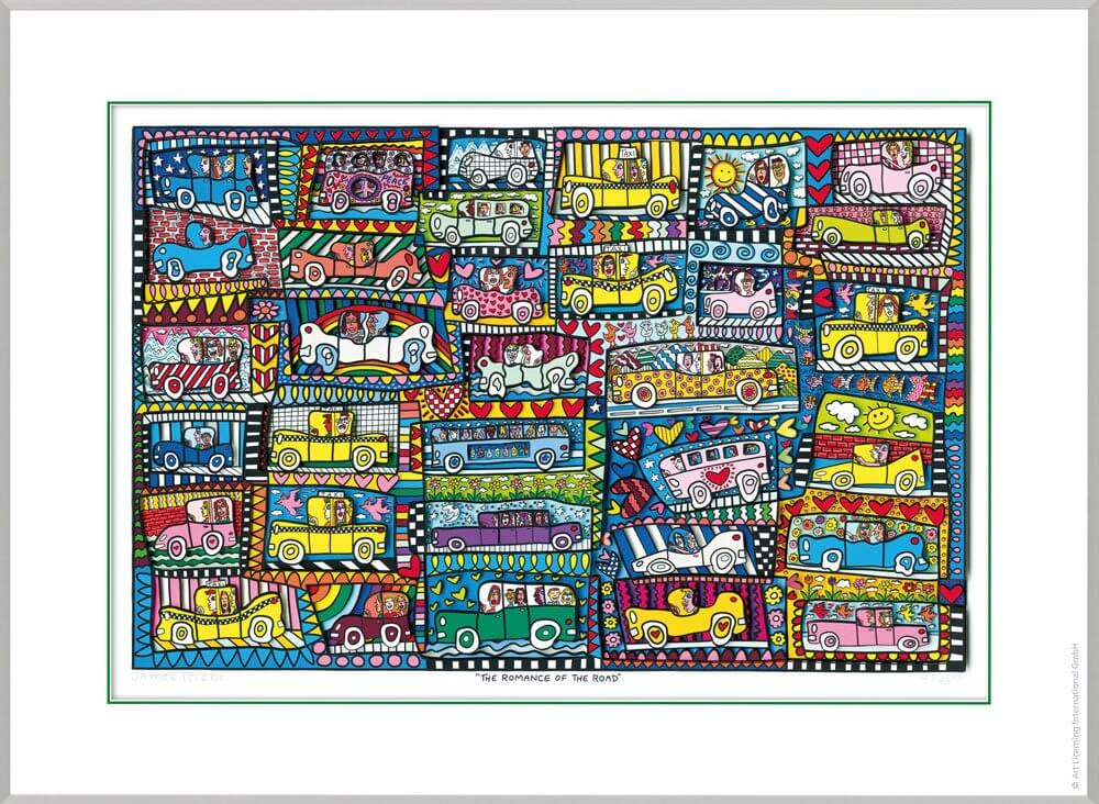 James Rizzi: The Romance Of The Road