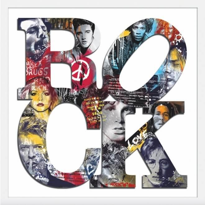 Devin Miles: Rock II inkl. Rahmen