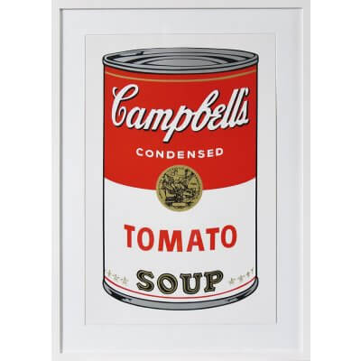 Andy Warhol: Campbells Tomato Soup