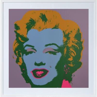 Andy Warhol: Marilyn Monroe 28