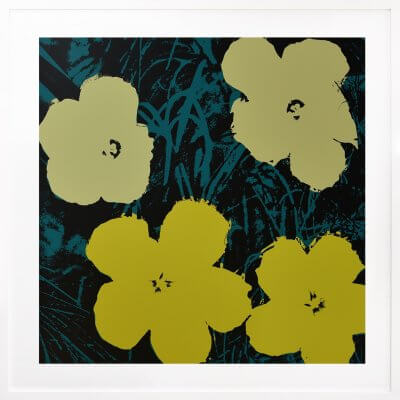Andy Warhol: Flowers 72
