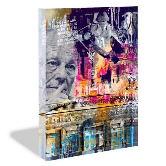 Devin Miles: Berlin - Acrylblock