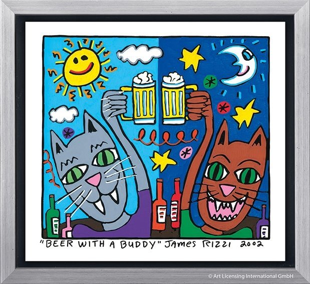 James Rizzi: Beer With A Buddy