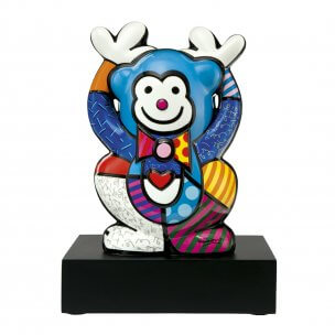 Romero Britto: Blue Monkey