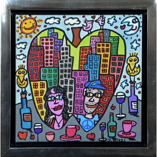 James Rizzi: You Are The Apple Of My Eye