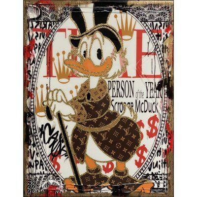 Christiane Janssen: Scrooge Mc Duck