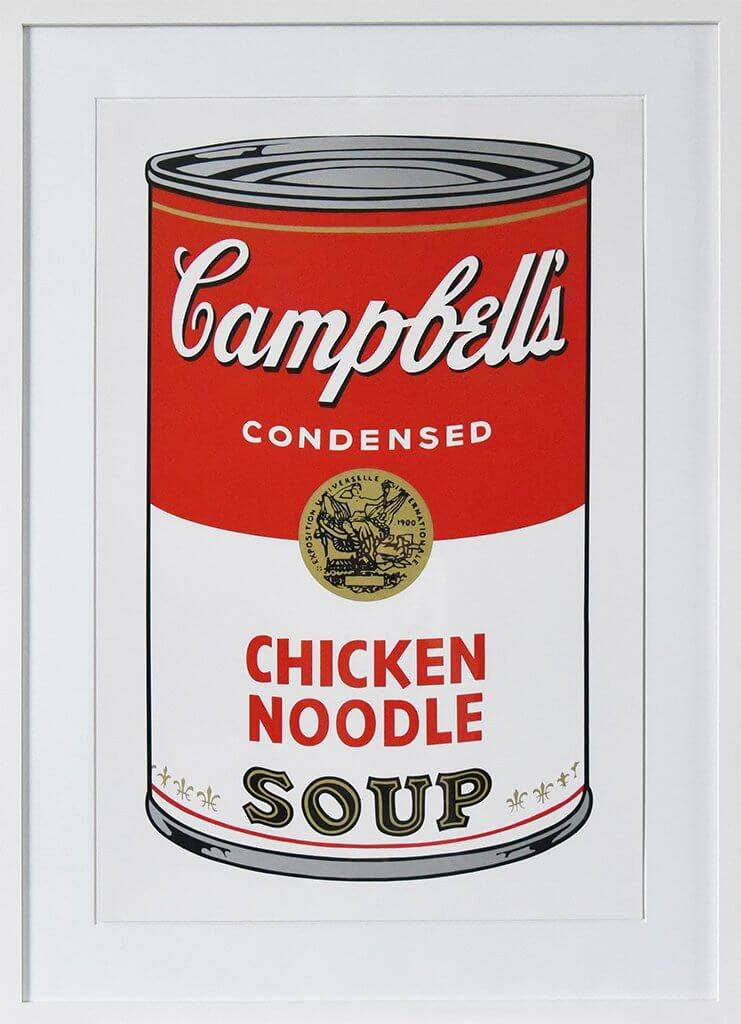Andy Warhol: Campbells Chicken Noodles Soup