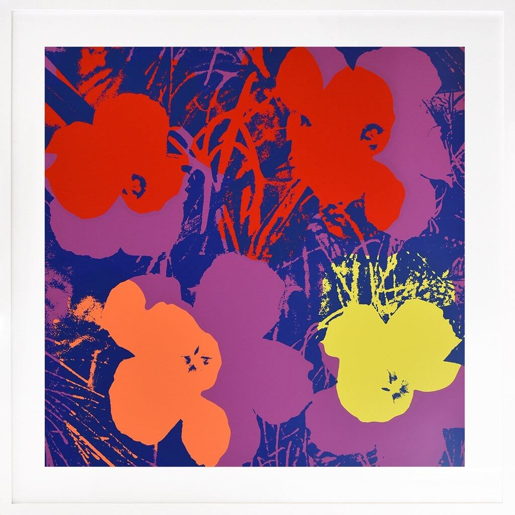 Andy Warhol: Flowers 66