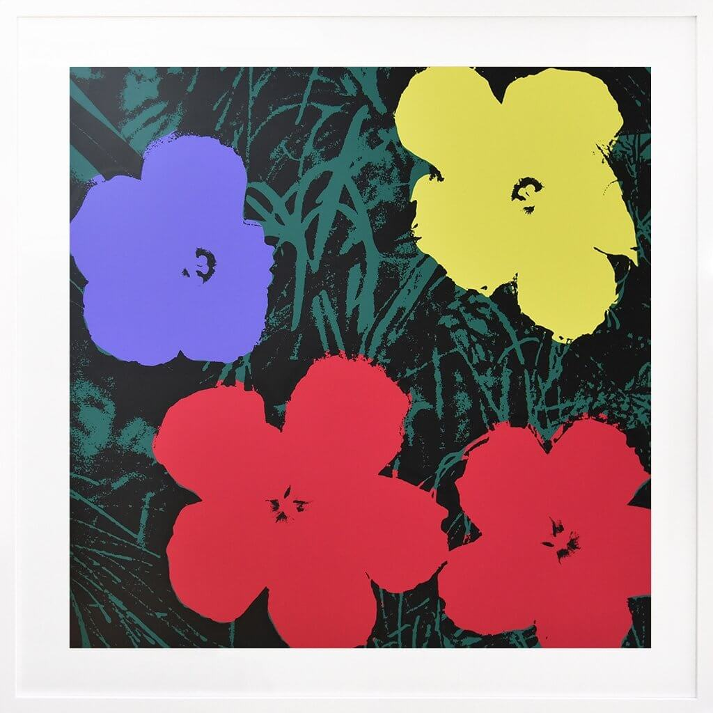 Andy Warhol: Flowers 73