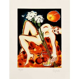 Elvira Bach: Grüße an Chardin