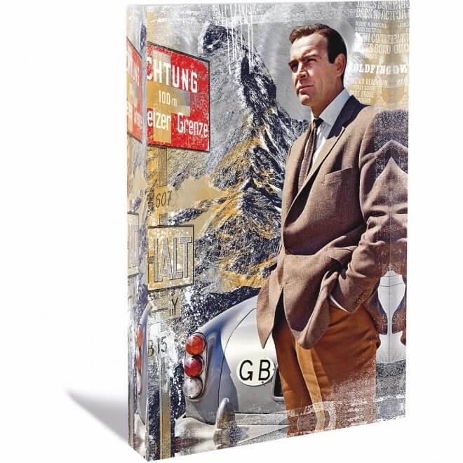Devin Miles: Big Bond - Acrylblock