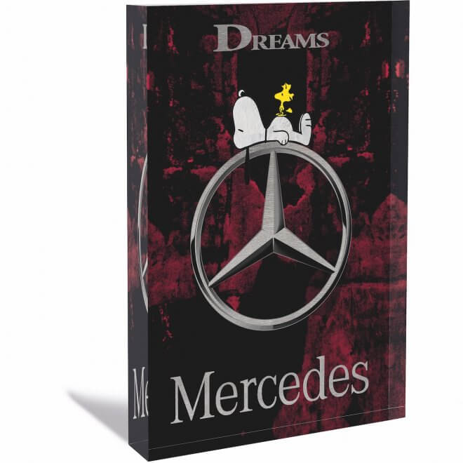 Devin Miles: Mercedes - Acrylblock