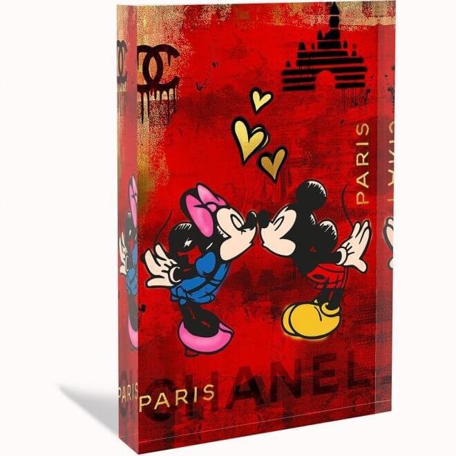 Devin Miles: Love Paris - Acrylblock