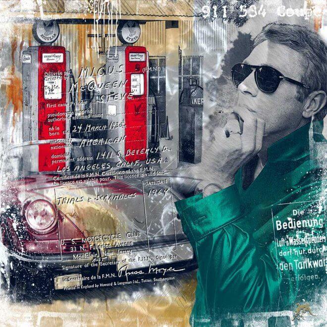 Devin Miles: Devil Driver (Steve McQueen mit Porsche)