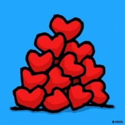 Ed Heck: Heart Pile