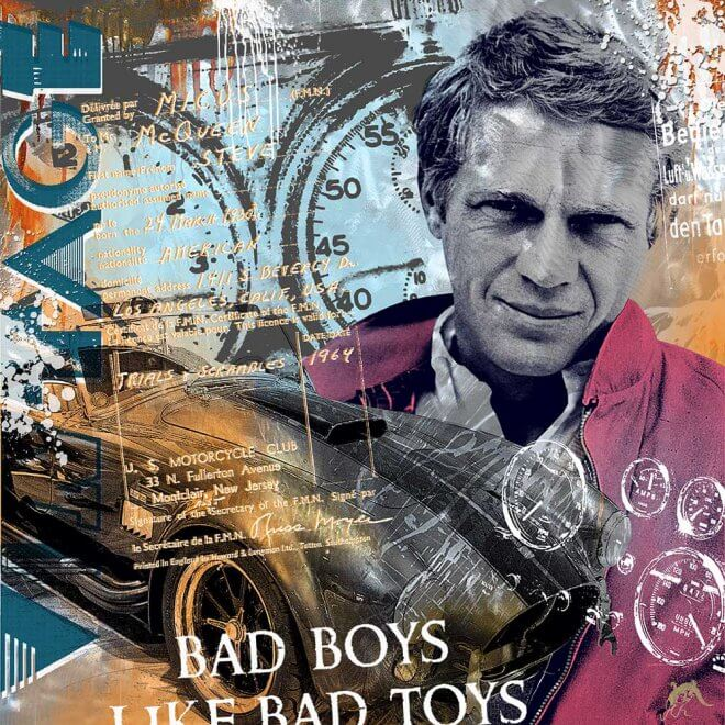 Devin Miles: Bad Boys – Steve McQueen