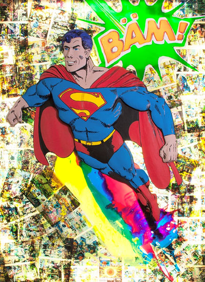 Ulrik Happy Dannenberg - Superman Bild