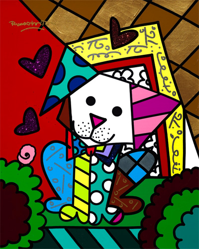 Romero Britto Pop Art