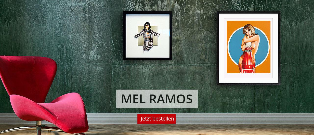 Kunstwerke von Mel Ramos